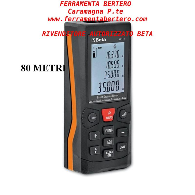BETA 1693 M MISURATORE LASER BETA