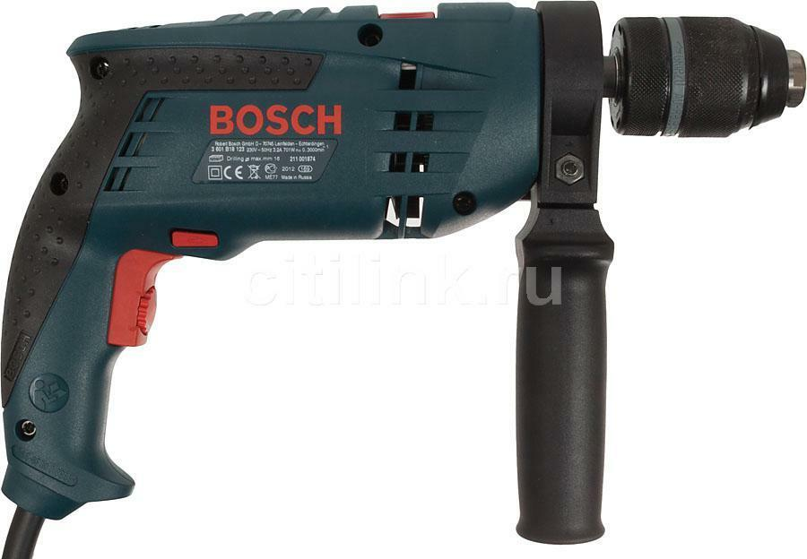 TRAPANO BOSCH PROFESSIONALE GSB 1600RE - 700 Watt