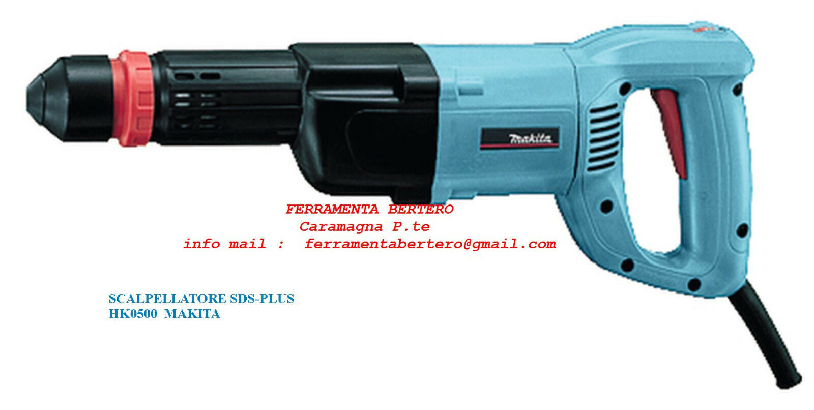 MAKITA HK0500 SCALPELLATORE SDS-PLUS 550 WATT